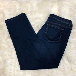 Style & Co. Denim Dark Blue Straight Leg Jeans 16